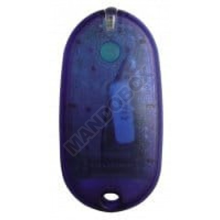 Mando de garaje SEAV Be-Happy-RS1 blue