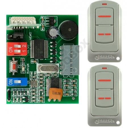 Kit Receptor/Mandos ERREKA IRIS 433MHz