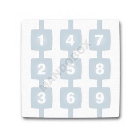 Teclado numérico NICE Way 9C