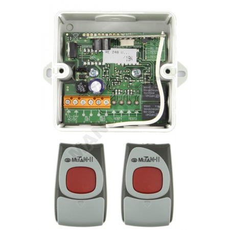 Kit Receptor/Mandos CLEMSA MUTANcode II RE 248 U C N1