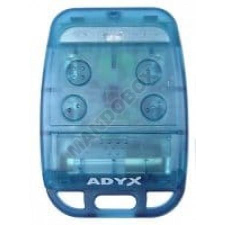 Mando de garaje ADYX TE4433H blue