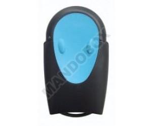 Mando de garaje TELECO TXR-433-A02 blue