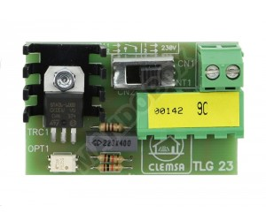 Tarjeta de luz CLEMSA TLG 23