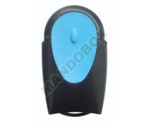 Mando de garaje TELECO TXR-433-A01 blue
