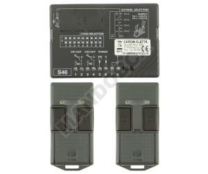 Kit Receptor/Mandos CARDIN S46 MINI 27.195 MHz