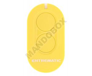 Mando de garaje ENTREMATIC ZEN2 amarillo