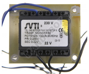 Transformador TELCOMA ZEN 22 V